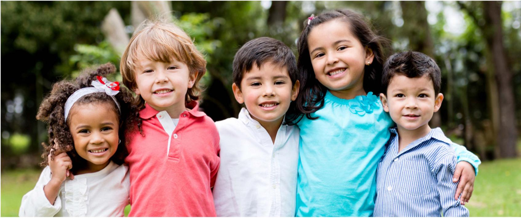 children who are friends